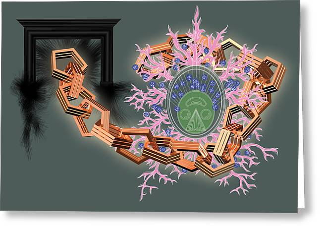 Alabama Greeting Card by Foltera Art