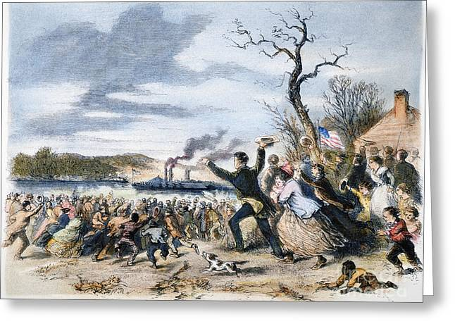 Loyalist Greeting Cards - Alabama Loyalists, 1862 Greeting Card by Granger