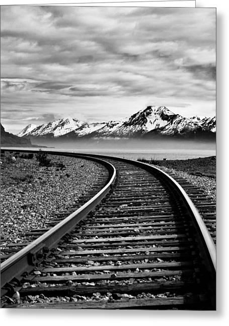 Jason Smith Greeting Cards - Alaska Railroad Greeting Card by Jason Smith