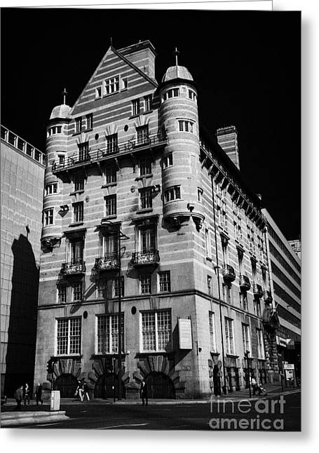 Albion House James Street Liverpool Former Offices Of The White Star Line  Greeting Card by Joe Fox