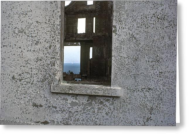 Alcatraz - windows Greeting Card by Paul W Faust -  Impressions of Light