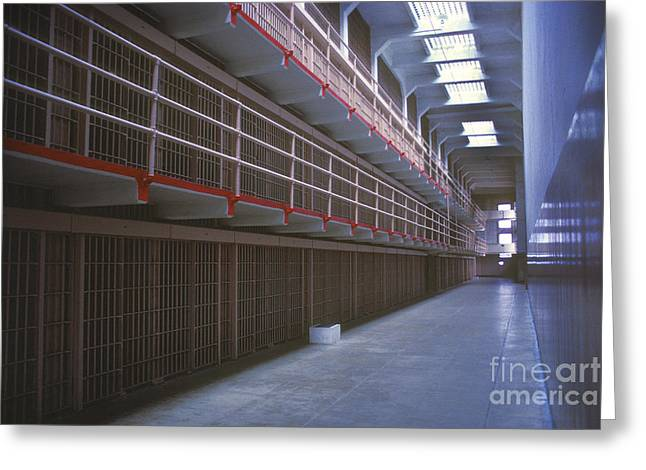 Alcatraz Greeting Cards - Alcatraz awaits Greeting Card by Paul W Faust -  Impressions of Light