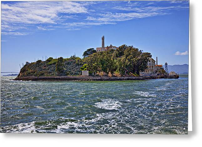 Alcatraz Island San Francisco Greeting Card by Garry Gay