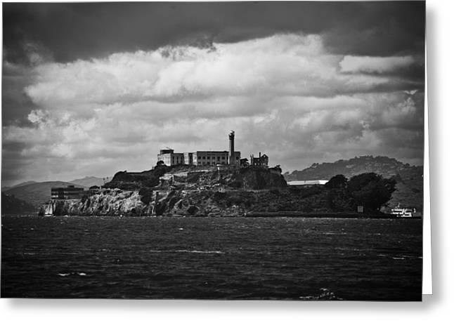 Golden Gate National Recreation Area Greeting Cards - Alcatraz Greeting Card by Ralf Kaiser