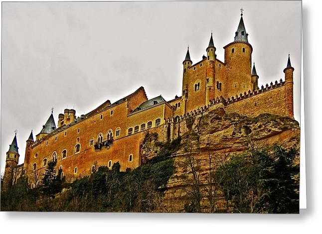 Castilla Greeting Cards - Alcazar de Segovia - Spain Greeting Card by Juergen Weiss