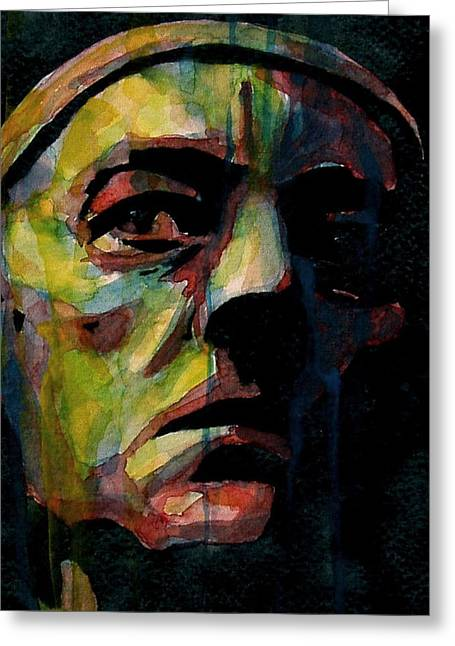 Alec Guinness Greeting Card by Paul Lovering