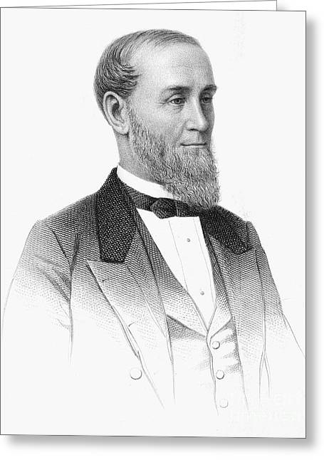 1876 Greeting Cards - Alexander T. Stewart Greeting Card by Granger