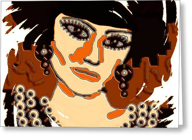 Punky Greeting Cards - Alexandra Greeting Card by Natalie Holland