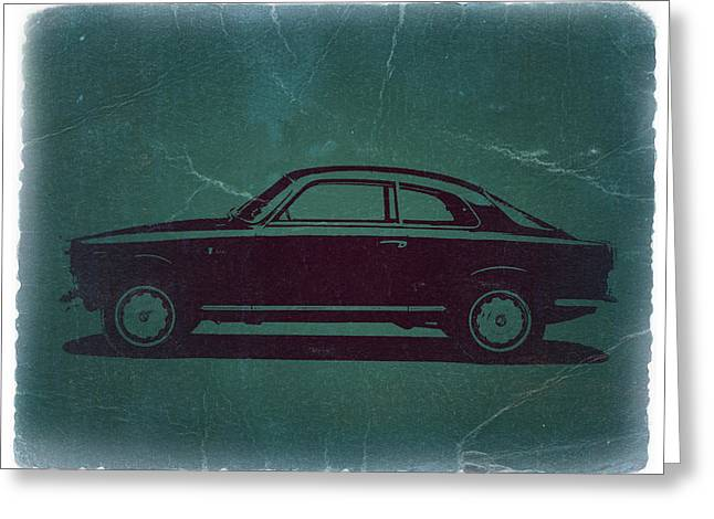 Old Car Greeting Cards - Alfa Romeo GTV Greeting Card by Naxart Studio