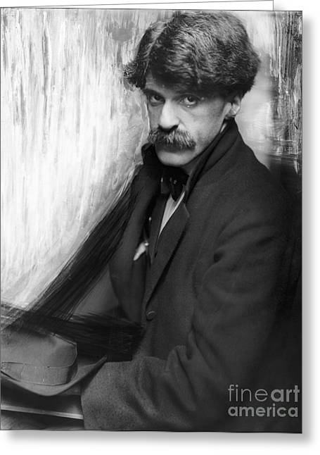 Promoters Greeting Cards - Alfred Stieglitz (1864-1946) Greeting Card by Granger