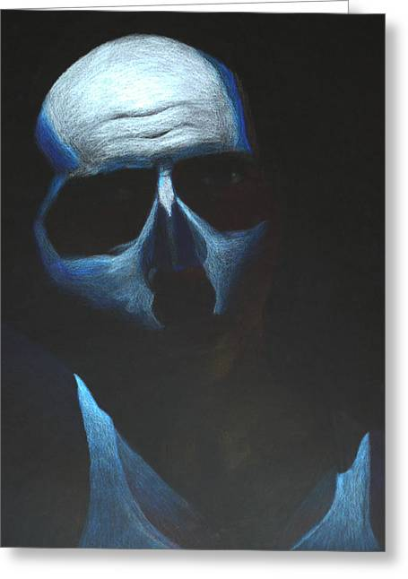 Creepy Pastels Greeting Cards - Alive Greeting Card by Brandon Baird