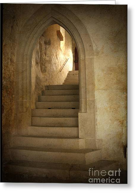 All Experience Is An Arch Greeting Card by Heiko Koehrer-Wagner