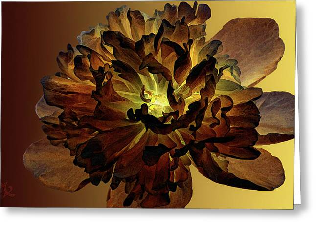 Abstract Expression Greeting Cards - All For You 1 Greeting Card by Angelina Vick