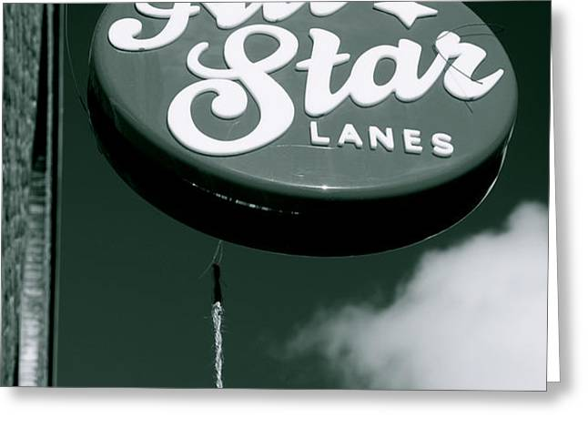 all star lanes Greeting Card by Jez C Self