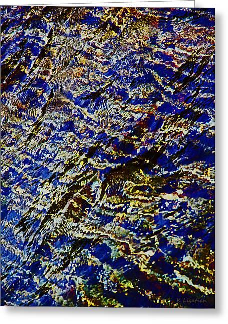 All That Glitters Greeting Card by Kerri Ligatich