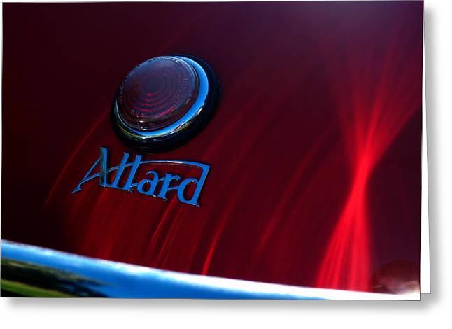 Allard Greeting Cards - Allard Greeting Card by Kurt Golgart