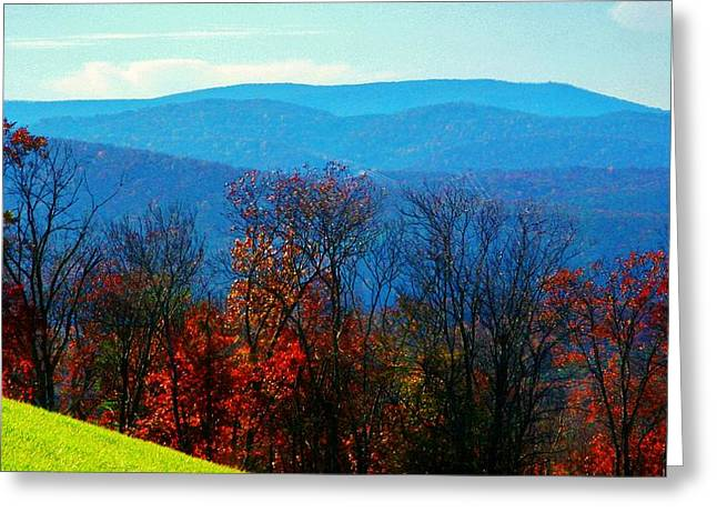 Allegheny Greeting Cards - Allegheny Mountains West Virginia Greeting Card by Joyce Kimble Smith