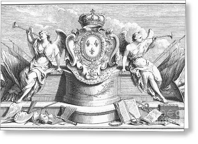Allegory: Fame Greeting Card by Granger
