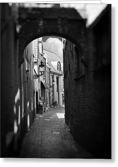 Fuselier Greeting Cards - Alley Greeting Card by Cecil Fuselier