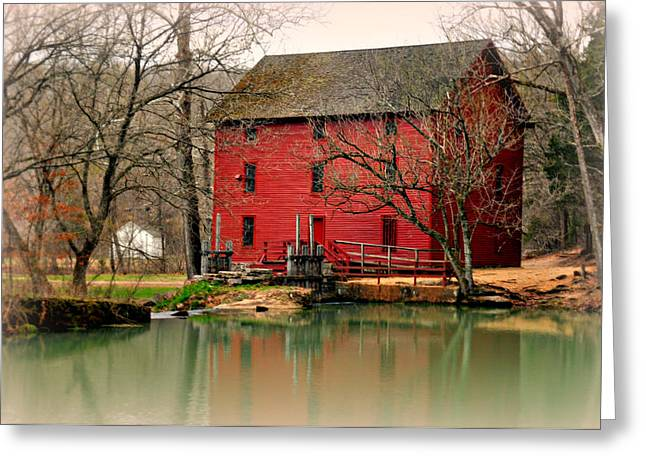 Alley Mill 4 Greeting Card by Marty Koch