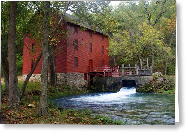 Marty Koch Greeting Cards - Alley Sprng Mill 3 Greeting Card by Marty Koch