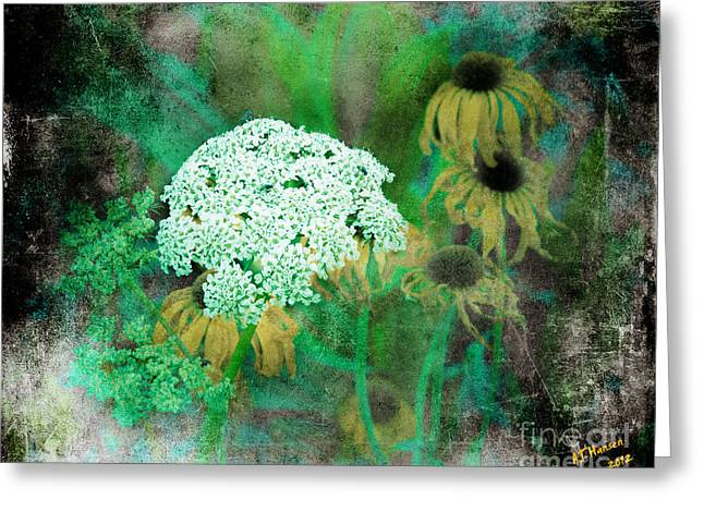 Flora Greeting Cards - Alluring Softness Greeting Card by Arne Hansen
