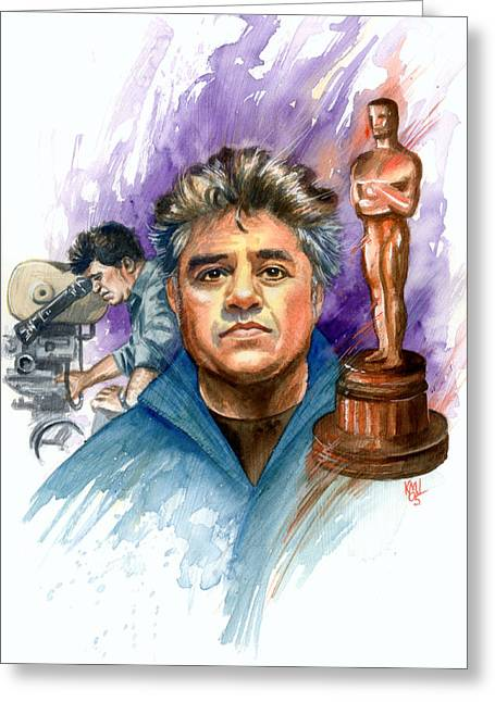 Almodovar Greeting Card by Ken Meyer jr