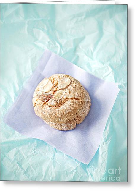 Sugared Almonds Greeting Cards - Almond Cookies Greeting Card by HD Connelly