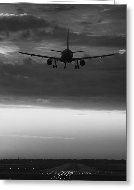 Plane Art Greeting Cards - Almost Home Greeting Card by Andrew Soundarajan