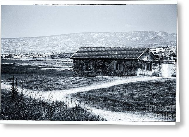 Old School House Greeting Cards - Almost Home Greeting Card by John Rizzuto