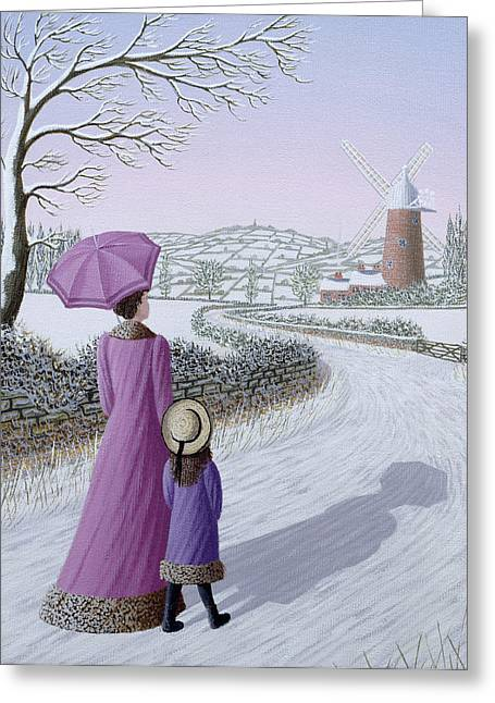 Umbrellas Greeting Cards - Almost Home Greeting Card by Peter Szumowski