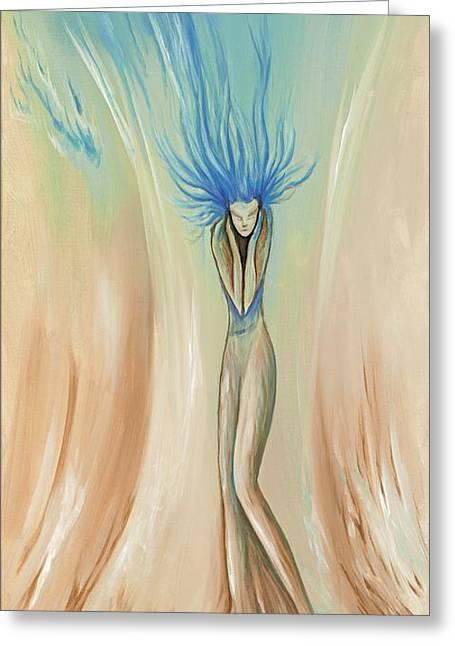 David Junod Greeting Cards - Alone Greeting Card by David Junod