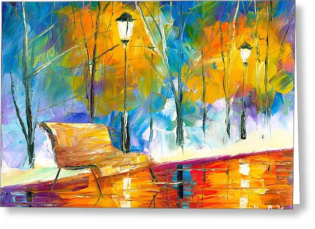 Jessilyn Park Greeting Cards - Alone Time Greeting Card by Jessilyn Park