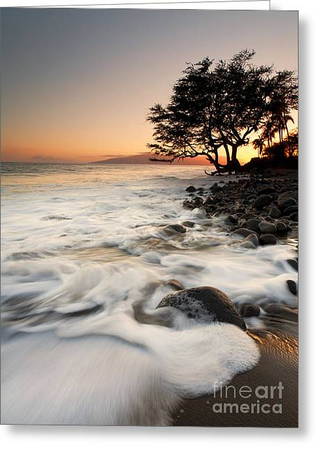 Lahaina Photographs Greeting Cards - Alone with the Sea Greeting Card by Mike  Dawson