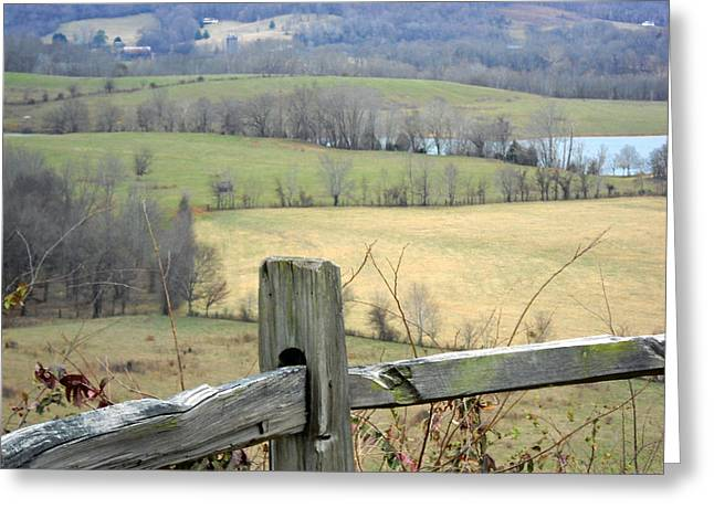 Recently Sold -  - Natchez Trace Parkway Greeting Cards - Along the Natchez Trace Greeting Card by Jimmie Roberson