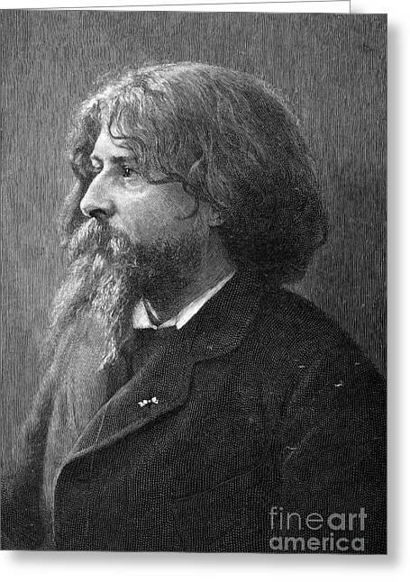 Daudet Greeting Cards - Alphonse Daudet (1840-1897) Greeting Card by Granger