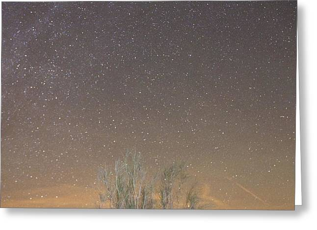 Alqueva Dark Sky Reserve Greeting Card by Andre Goncalves