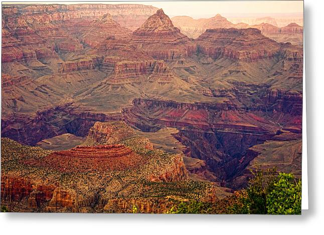 Amazing Colorful Spring Grand Canyon View Greeting Card by James BO  Insogna