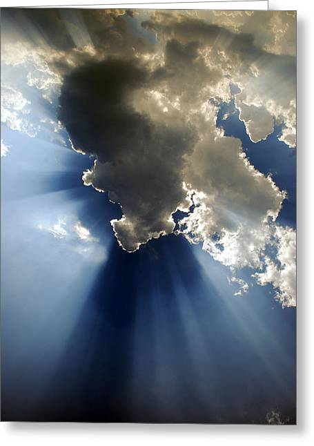 Devotional Art Photographs Greeting Cards - Amazing Grace Greeting Card by Skip Willits