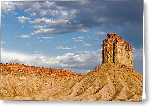Sandstone Bluffs Greeting Cards - Amazing Mesa Verde Country Greeting Card by Christine Till