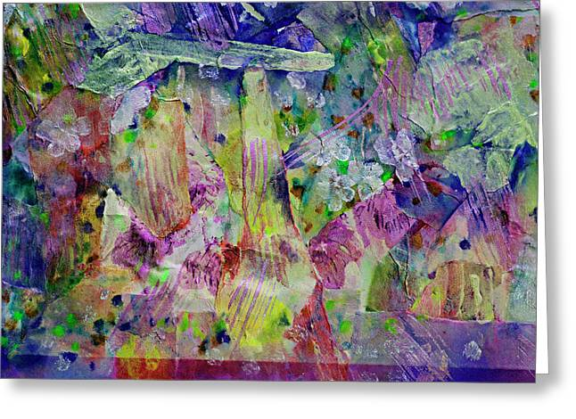 Designers Choice Mixed Media Greeting Cards - Ambrosia Collage  Greeting Card by Don Wright