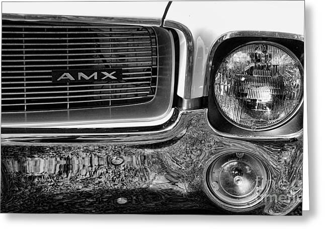 American Motors Corporation Greeting Cards - Amc Amx Greeting Card by Paul Ward