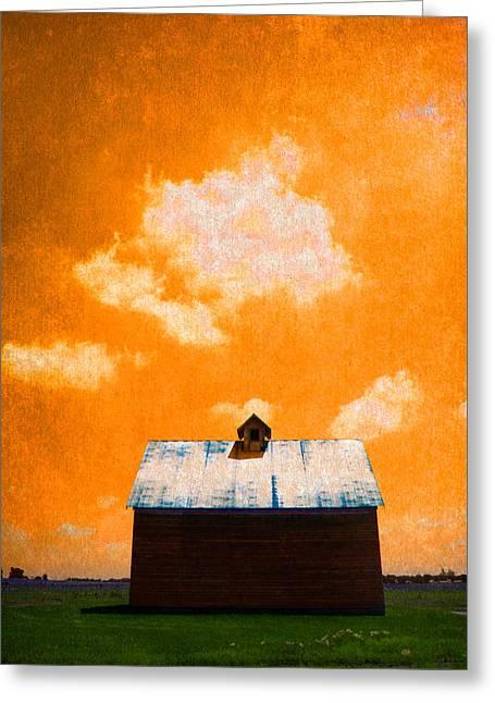 Rural Indiana Digital Art Greeting Cards - America #1696 Greeting Card by Robert Tolchin
