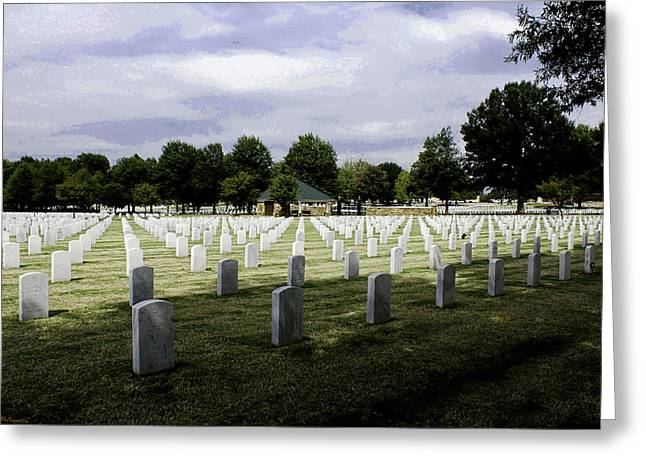 Ft Smith Greeting Cards - America s Heroes Greeting Card by Leroy McLaughlin