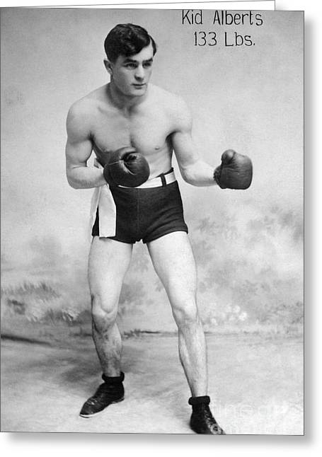 American Boxer, C1912 Greeting Card by Granger