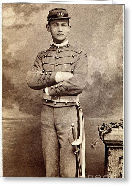 1880s Greeting Cards - AMERICAN CADET, c1870 Greeting Card by Granger