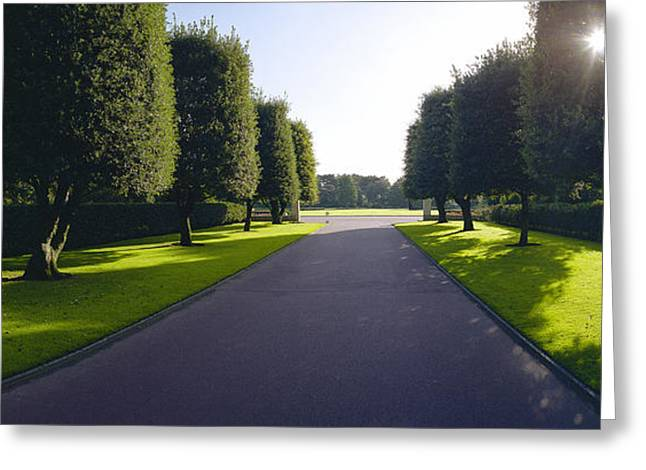 St. Laurent Greeting Cards - American Cemetery at Omaha Greeting Card by Jan Faul