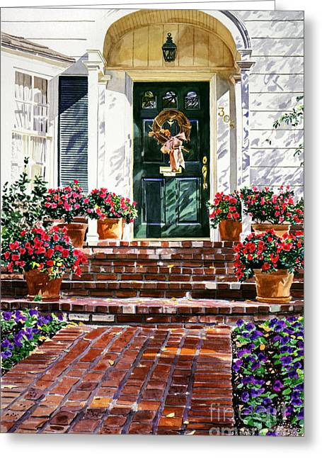 """""""cape Cod"""" Greeting Cards - American Classic Greeting Card by David Lloyd Glover"""