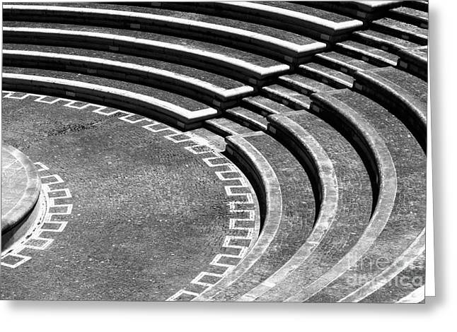 Amphitheatre Greeting Card by Gaspar Avila