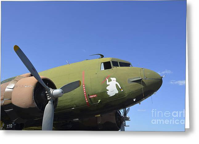 Ac-130 Greeting Cards - An Ac-130u Spooky Gunship Greeting Card by Stocktrek Images